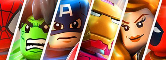Lego Marvel Super Heroes Banner