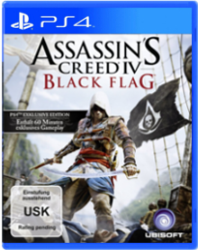 Assassins Creed IV Black Flag Packshot