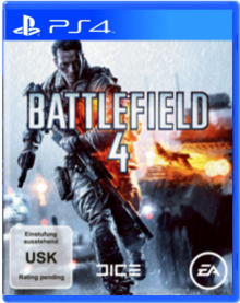 Battlefield 4 Packshot