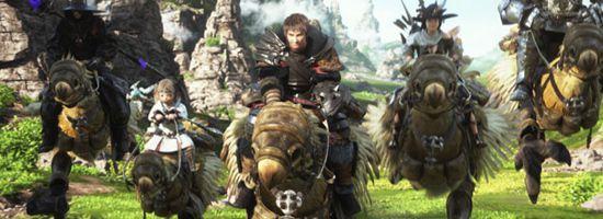 Final Fantasy XIV A Realm Reborn Banner