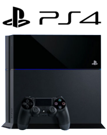 PlayStation 4 PS4 Packshot