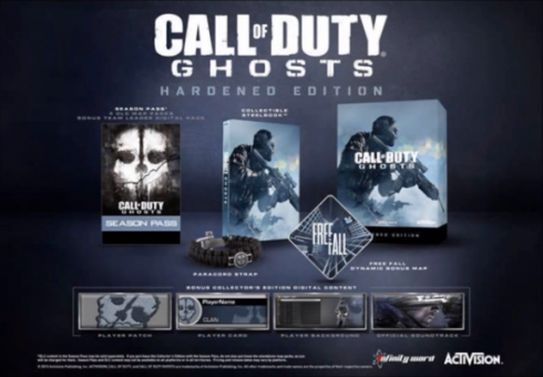 COD Ghosts Hardened Edition