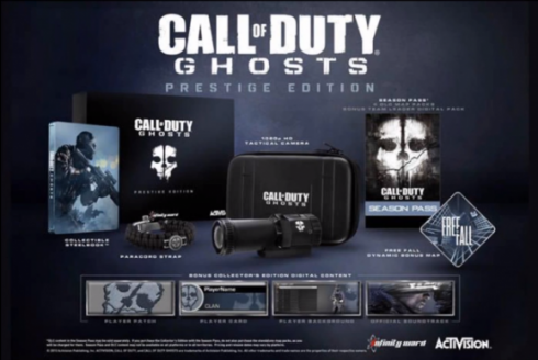 COD Ghosts Prestige Edition