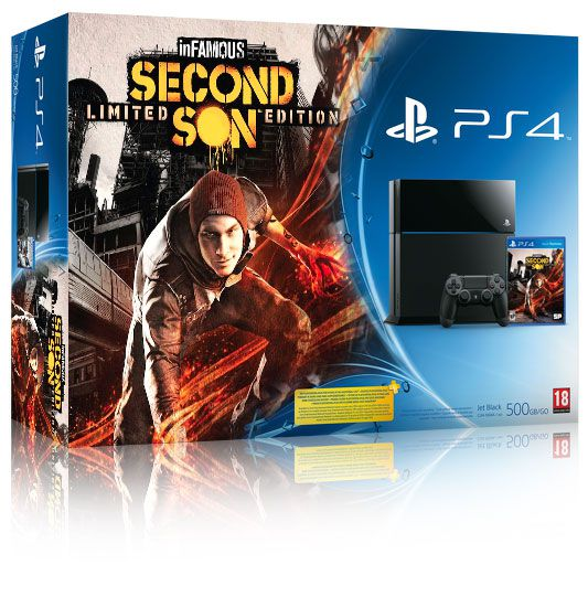infamous second son ps4 bundle Händler listet inFamous: Second Son PS4 Bundle für 449 Euro