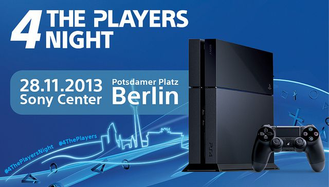 launch event berlin ps4
