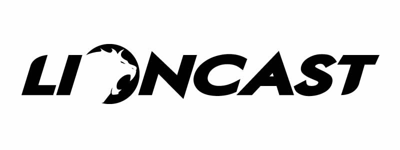 Lioncast Logo weiß
