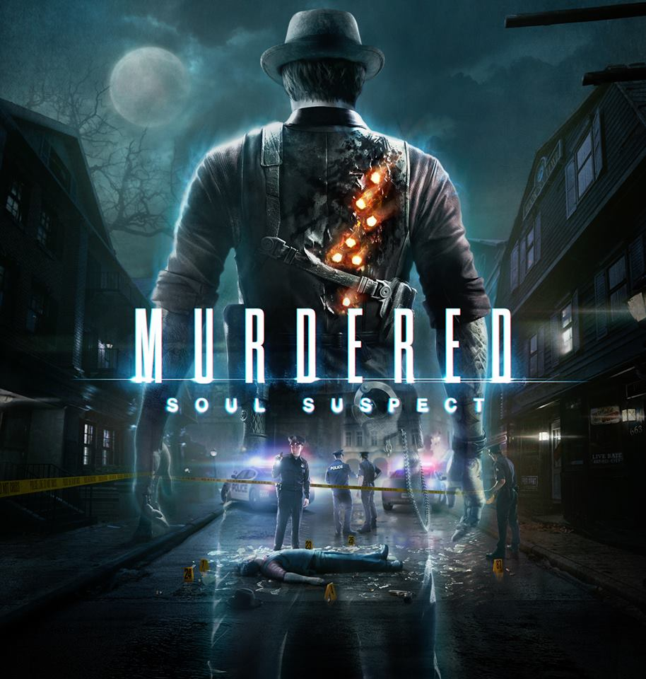 Mudered Soul Suspect PS4 Cover