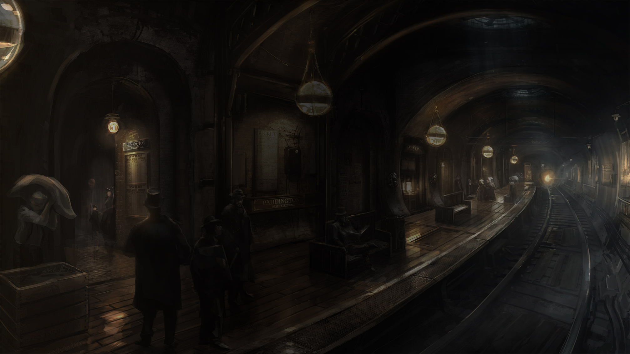 The Order 1886 U-Bahn Artwork