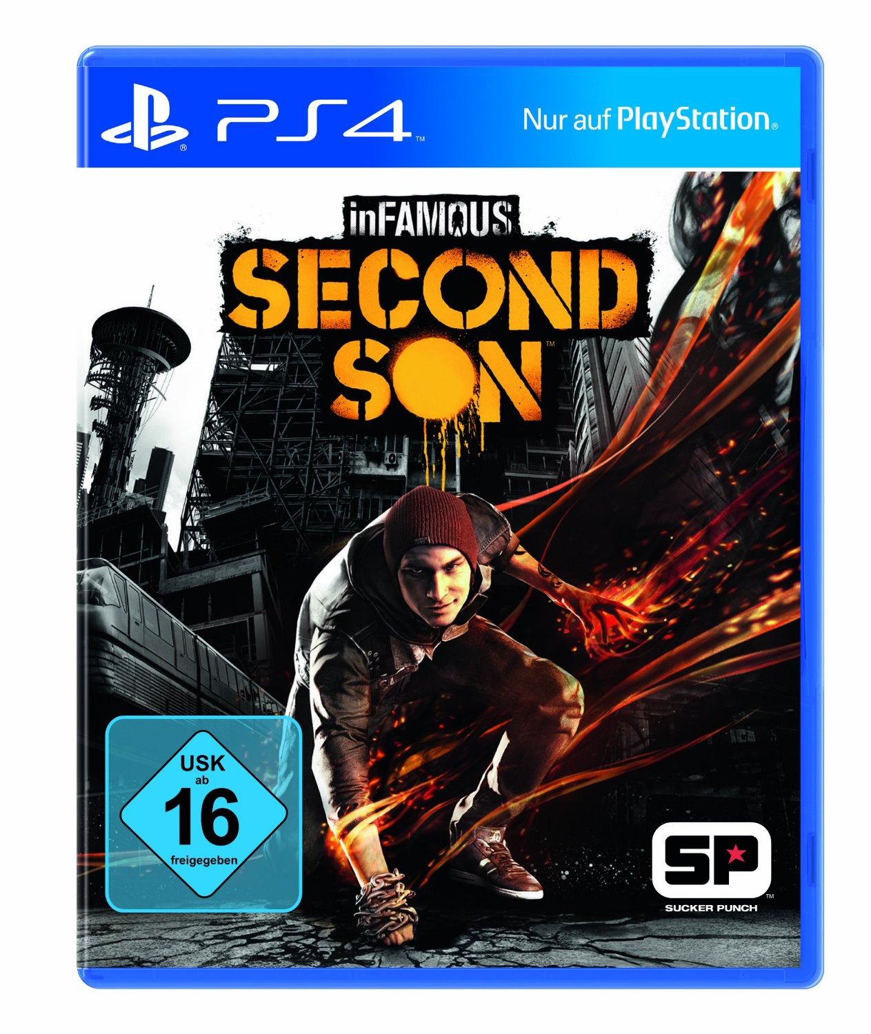 infamous second son packshot