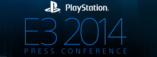 E3 2014 Pressekonferenz Banner