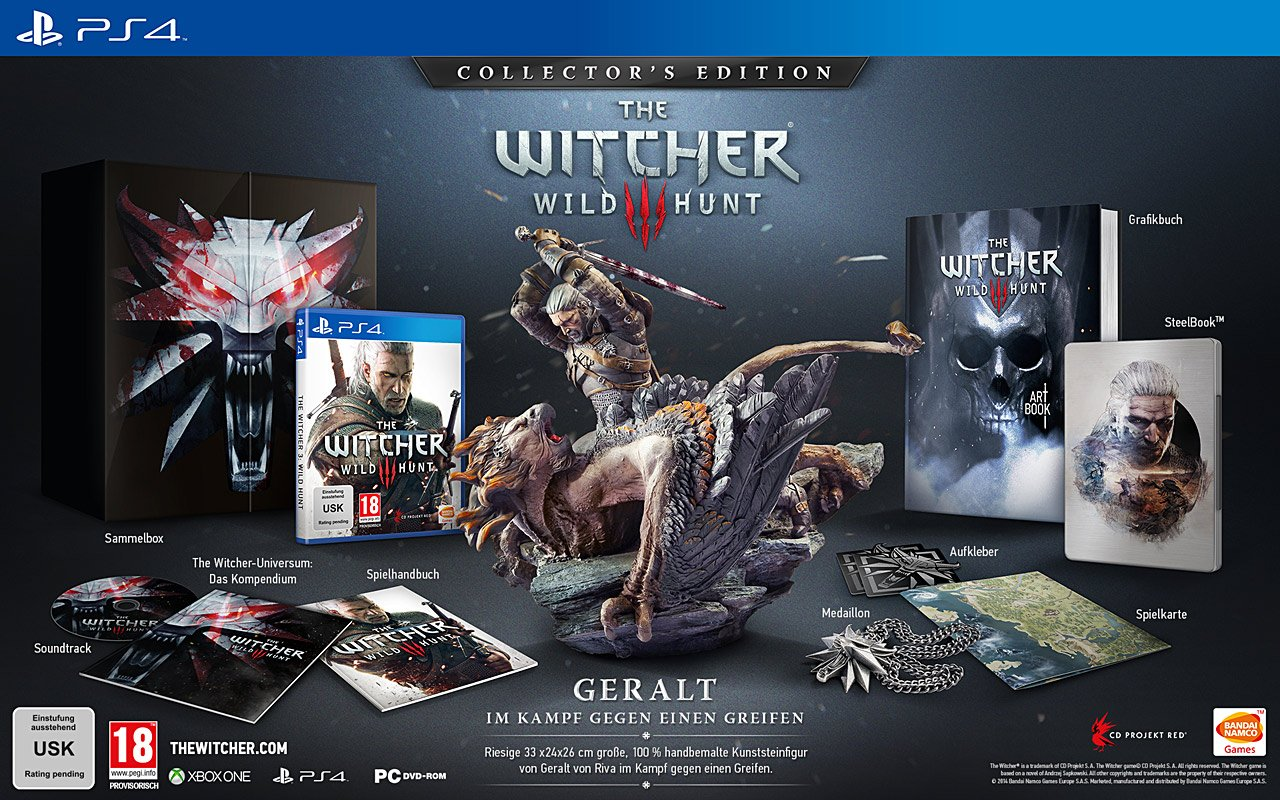 The Witcher 3 Collectors Edition