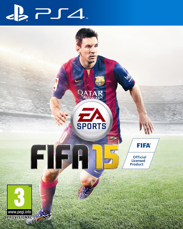 FIFA 15 Cover Messi FIFA 15   PS4 Packshot mit Messi veröffentlicht
